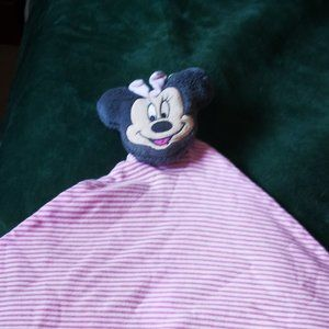 Disney Baby Lovey PINK AND WHITE stripes